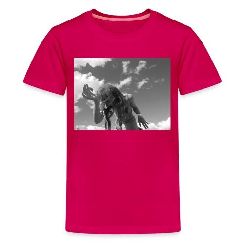 20250 2CFlorescer - Teenage Premium T-Shirt