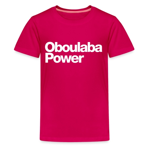 Oboulaba Power - T-shirt Premium Ado