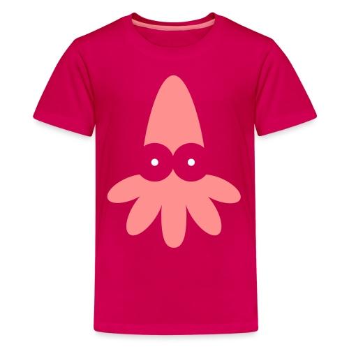 Squid Vector - choose design colours - Teenage Premium T-Shirt