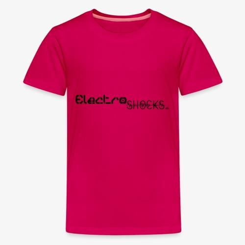ElectroShocks BW siteweb - T-shirt Premium Ado