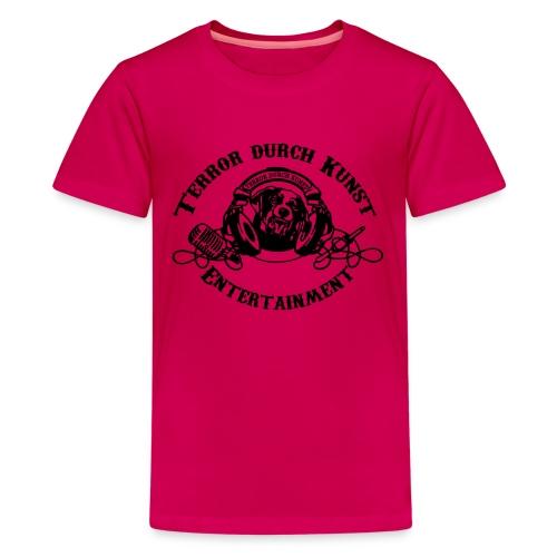 tdklogoschwarz 3 - Teenager Premium T-Shirt