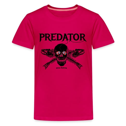 gone fishing norge - Teenager Premium T-Shirt