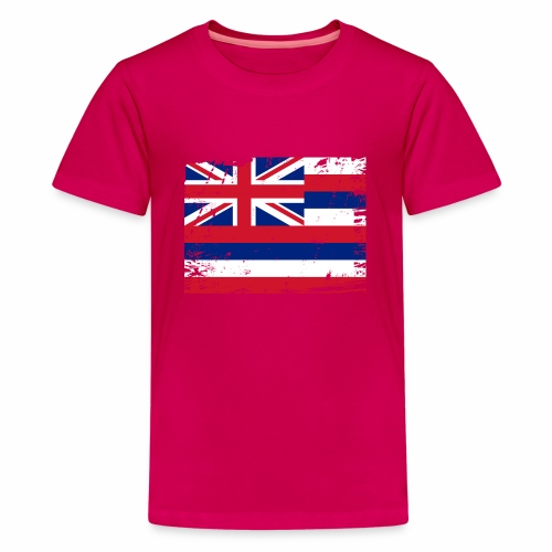 Hawaii flag textiles, Gifts and products for you - Teinien premium t-paita