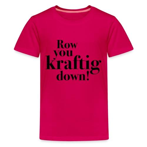 rowyoudown - Premium T-skjorte for tenåringer