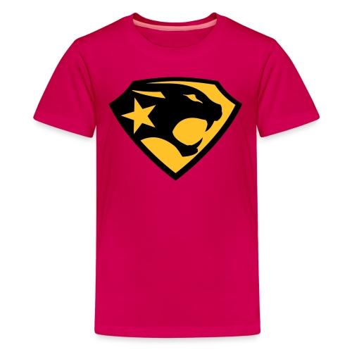 SUPER BLACK PANTHER - Teenager Premium T-Shirt