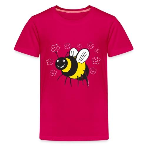 MEHILÄINEN BEE, Textiles and Gifts 10-1E - Teinien premium t-paita