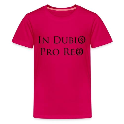 In Dubio pro Reo - Teenager Premium T-Shirt