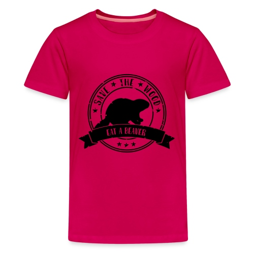 Save the wood - Teenager Premium T-shirt