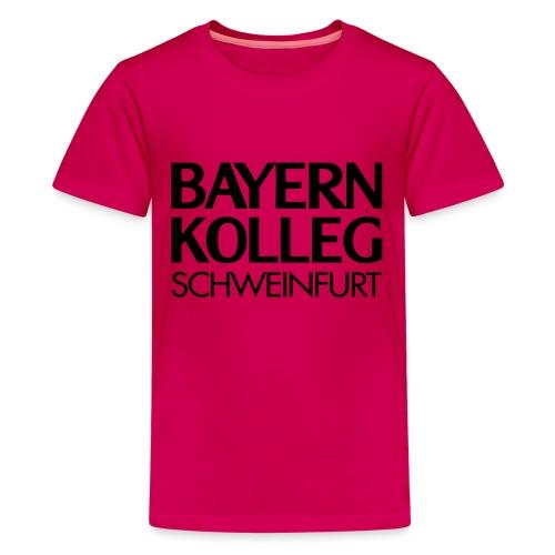 bayern kolleg schweinfurt - Teenager Premium T-Shirt