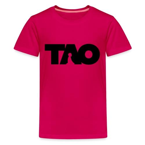 Tao meditation - T-shirt Premium Ado