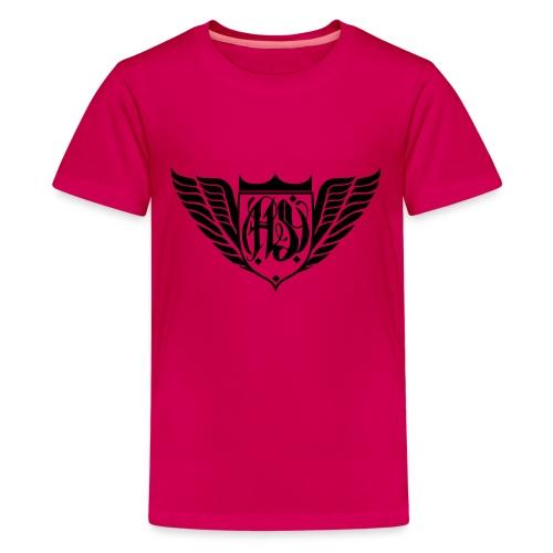 Hill Slayer Crew Logo - Teenager Premium T-Shirt