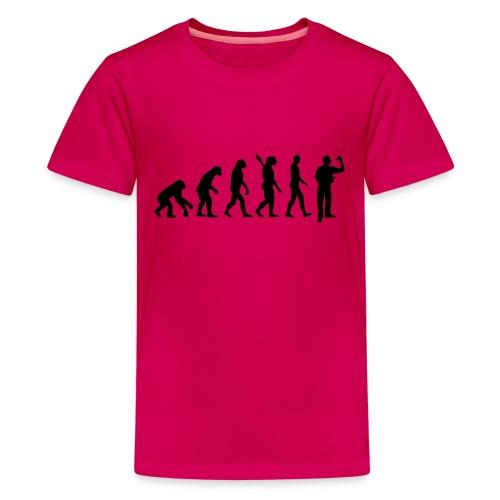 Evolution Darts - Camiseta premium adolescente