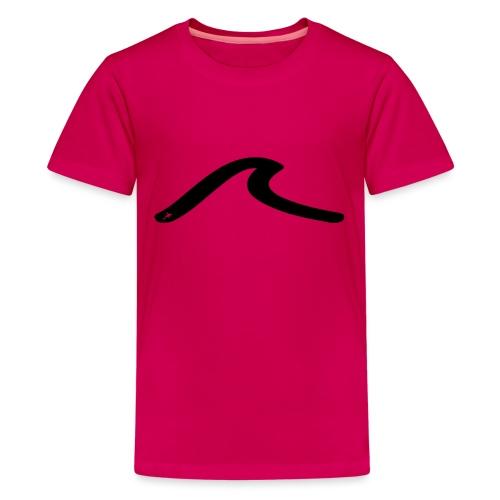 la vague multicolors - T-shirt Premium Ado
