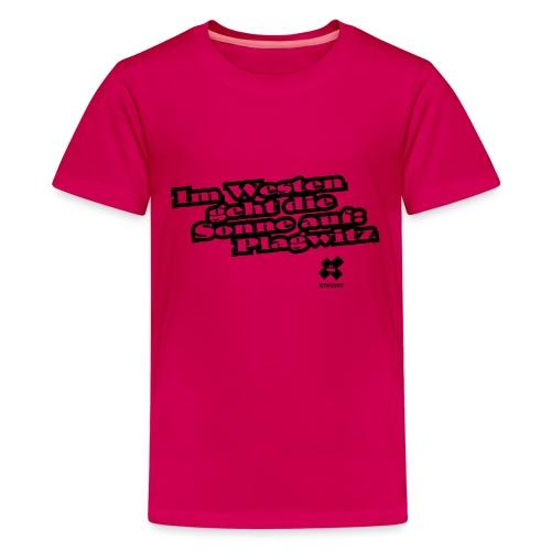 Stoffbeutel Plagwitz - Teenager Premium T-Shirt