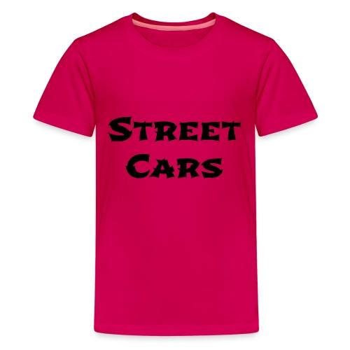 Street Cars 2 - Teenager Premium T-shirt