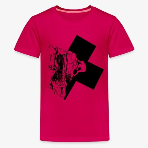 Rock climbing - Teenage Premium T-Shirt