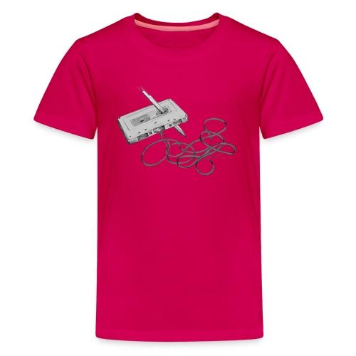 La cassette et son allié - T-shirt Premium Ado