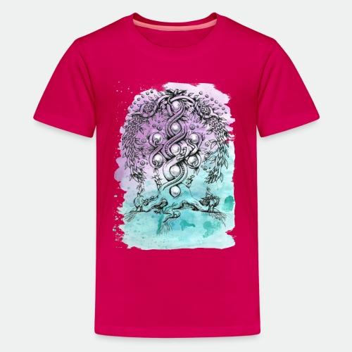 Yggdrasil - Teenage Premium T-Shirt