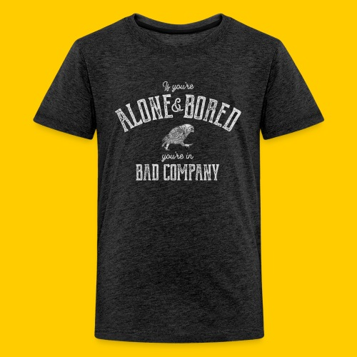 Alone and bored - Premium-T-shirt tonåring