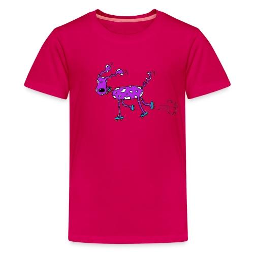 afbeelding rollerhondx copy - Teenager Premium T-shirt