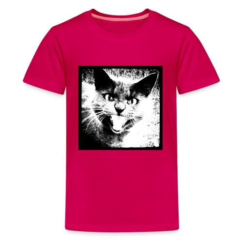 wild cat - Teenage Premium T-Shirt