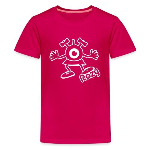 Rozy Full (White) - T-shirt Premium Ado