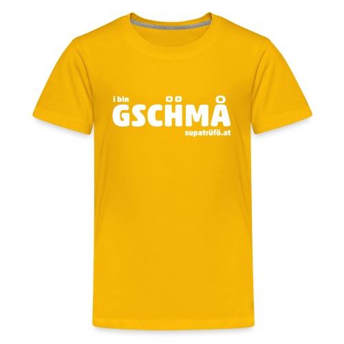supatrüfö GSCHMA - Teenager Premium T-Shirt