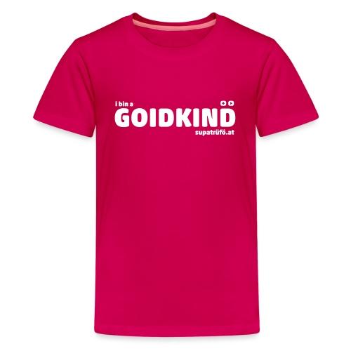 supatrüfö GOIDKIND - Teenager Premium T-Shirt