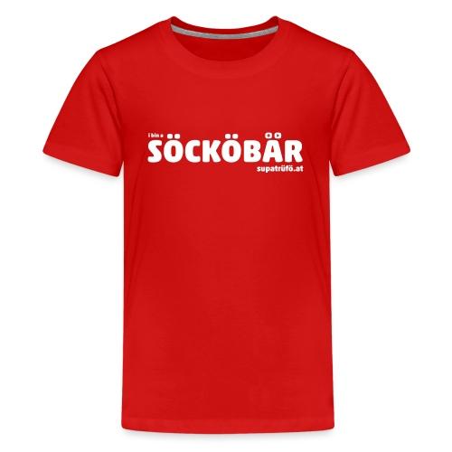 supatrüfö söcköbär - Teenager Premium T-Shirt
