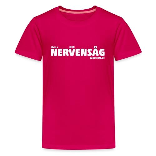 supatrüfö nervensag - Teenager Premium T-Shirt