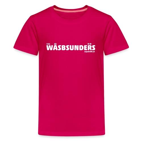 supatrüfö wasbsunders - Teenager Premium T-Shirt