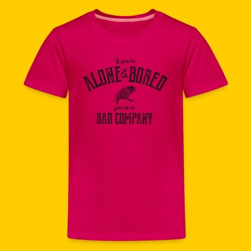 Alone & Bored - Premium-T-shirt tonåring
