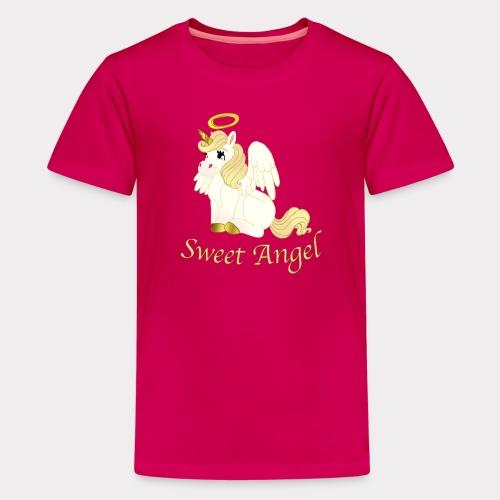 Sweet Angel 1 - Teenager Premium T-Shirt