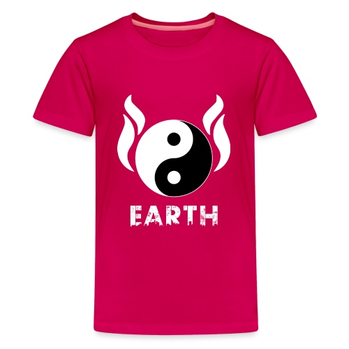 YIN YANG EARTH - Teenager Premium T-Shirt