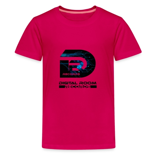 Digital Room Records Official Logo effect - Teenage Premium T-Shirt