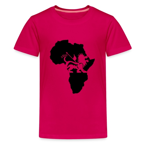 lion_of_judah_africa - Teenage Premium T-Shirt