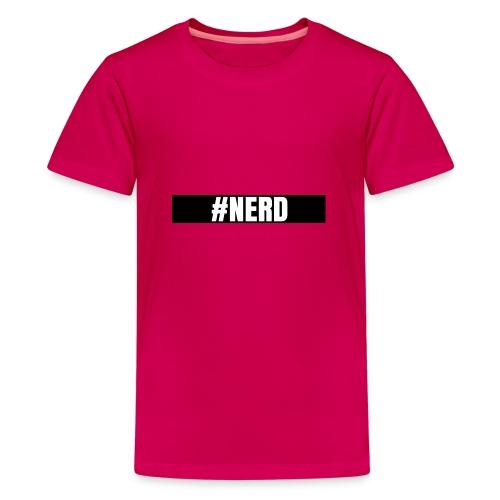 #NERD - Premium T-skjorte for tenåringer
