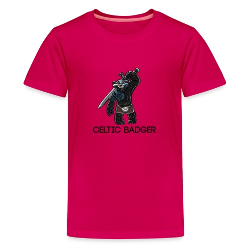 paddybadger png - Teenage Premium T-Shirt
