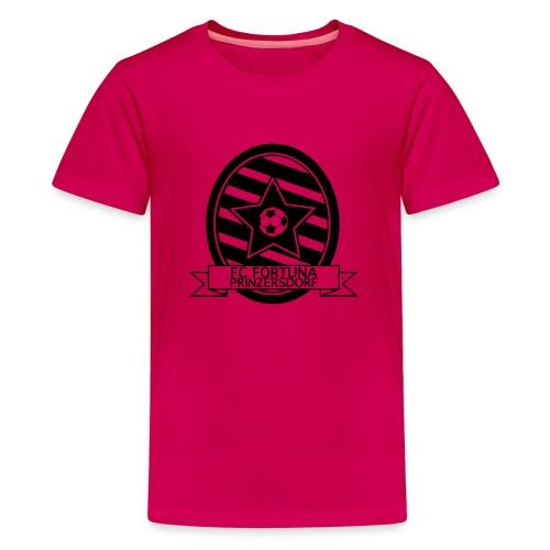 Fortuna Logo SW - Teenager Premium T-Shirt