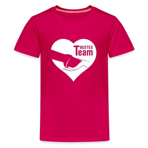 Vorschau: Bestes Team - Teenager Premium T-Shirt