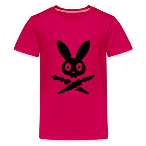Skully Sternauge auge hase kaninchen bunny häschen - Teenager Premium T-Shirt