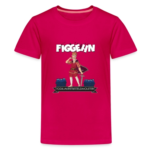 tabstryck - Premium-T-shirt tonåring
