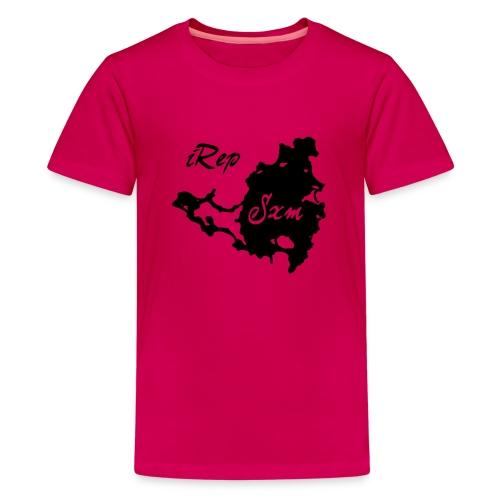 iRep Sxm Front vector - Teenager Premium T-shirt