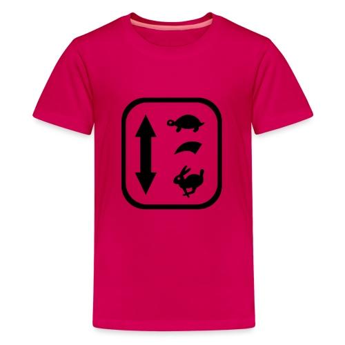 traktor schaltung - Teenager Premium T-Shirt