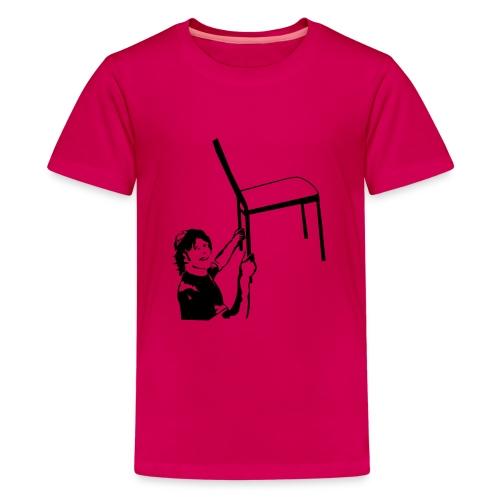 Stuhltanz - Schatzi schenk mir ein Foto - Teenager Premium T-Shirt