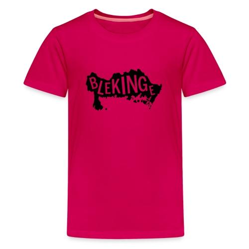 Blekingekarta - Premium-T-shirt tonåring