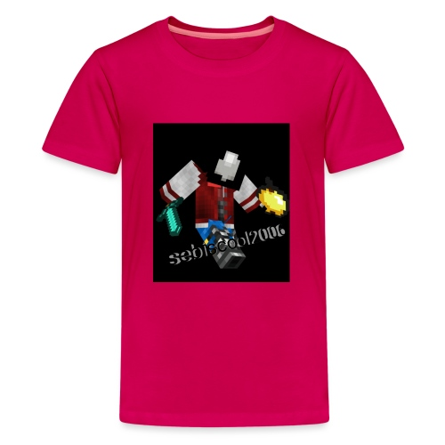 Sebastian yt - Teenager premium T-shirt