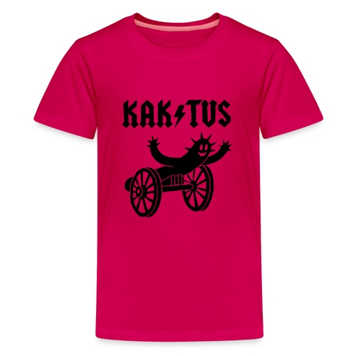 Kaktus Rock - Teenager Premium T-Shirt