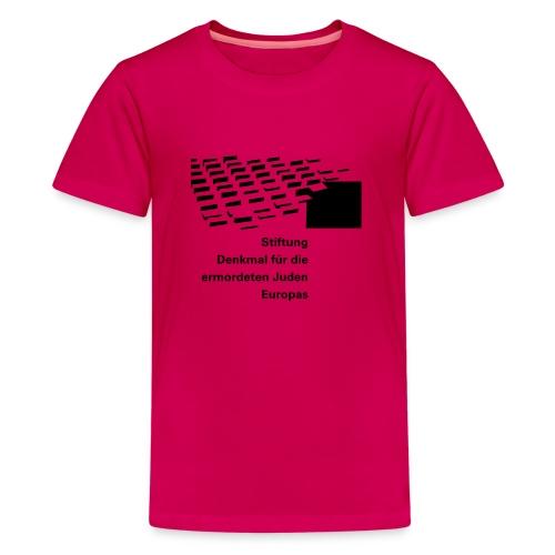 logo stiftung 1f - Teenager Premium T-Shirt