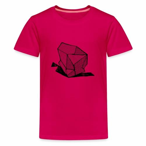 ROCK No 1 b w - Teenager Premium T-shirt